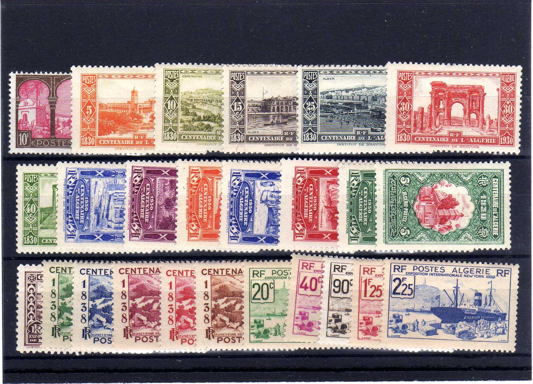 Lot 24 - FRANCE & COLONIES Algeria -  Georg Bühler Briefmarken Auktionen GmbH 27th mail bid auction