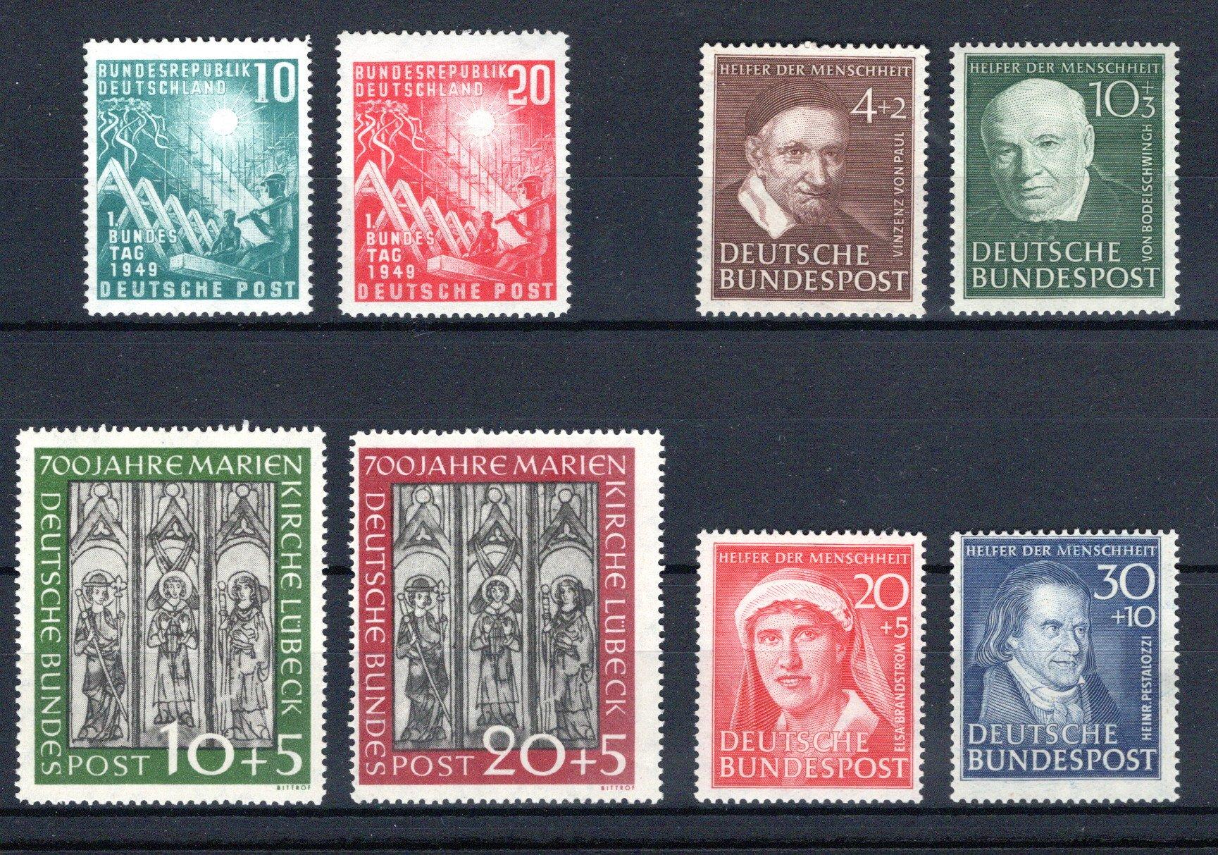 Lot 4261 - germany federal republic -  Georg Bühler Briefmarken Auktionen GmbH 27th mail bid auction