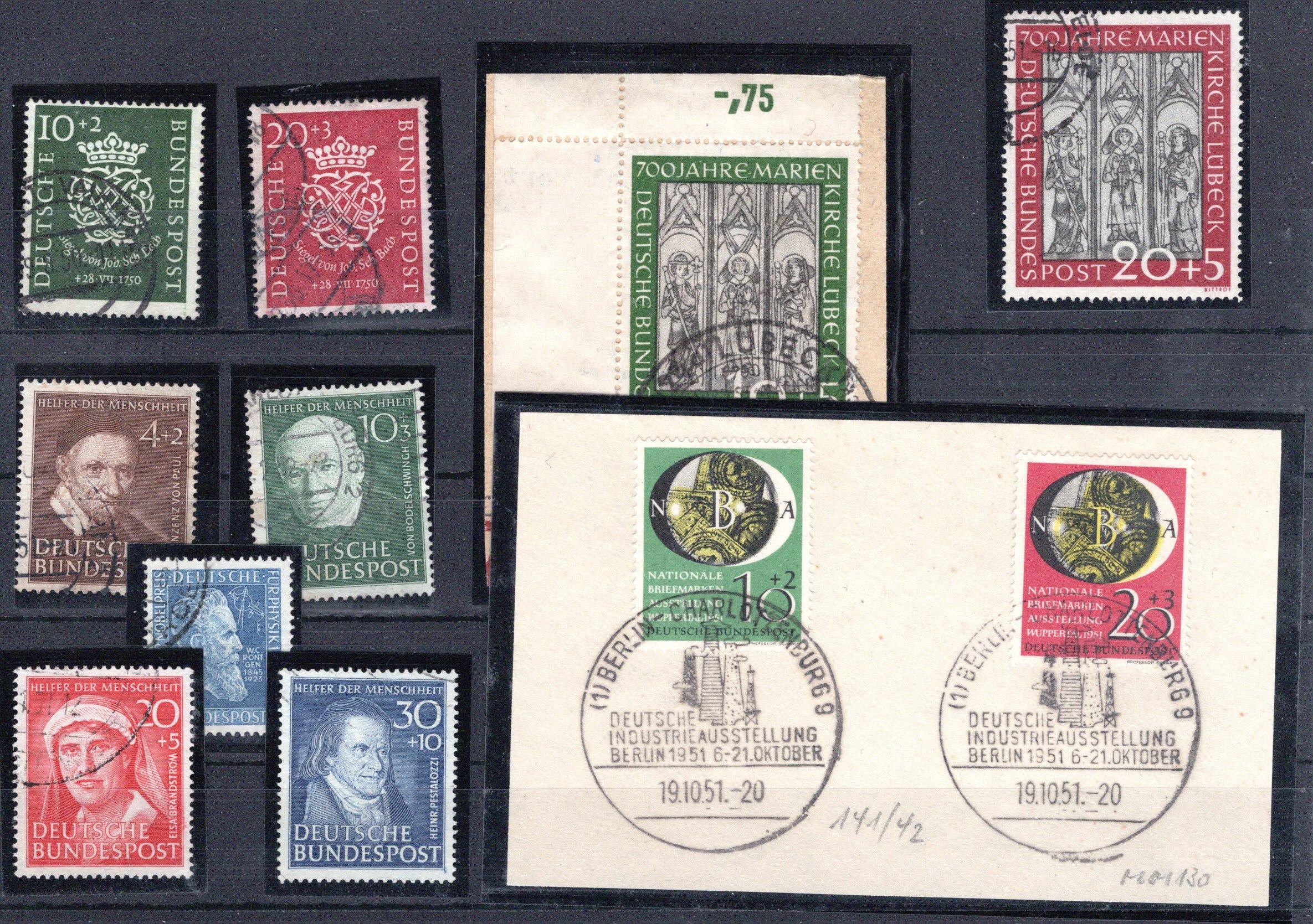 Lot 4244 - germany federal republic -  Georg Bühler Briefmarken Auktionen GmbH 27th mail bid auction