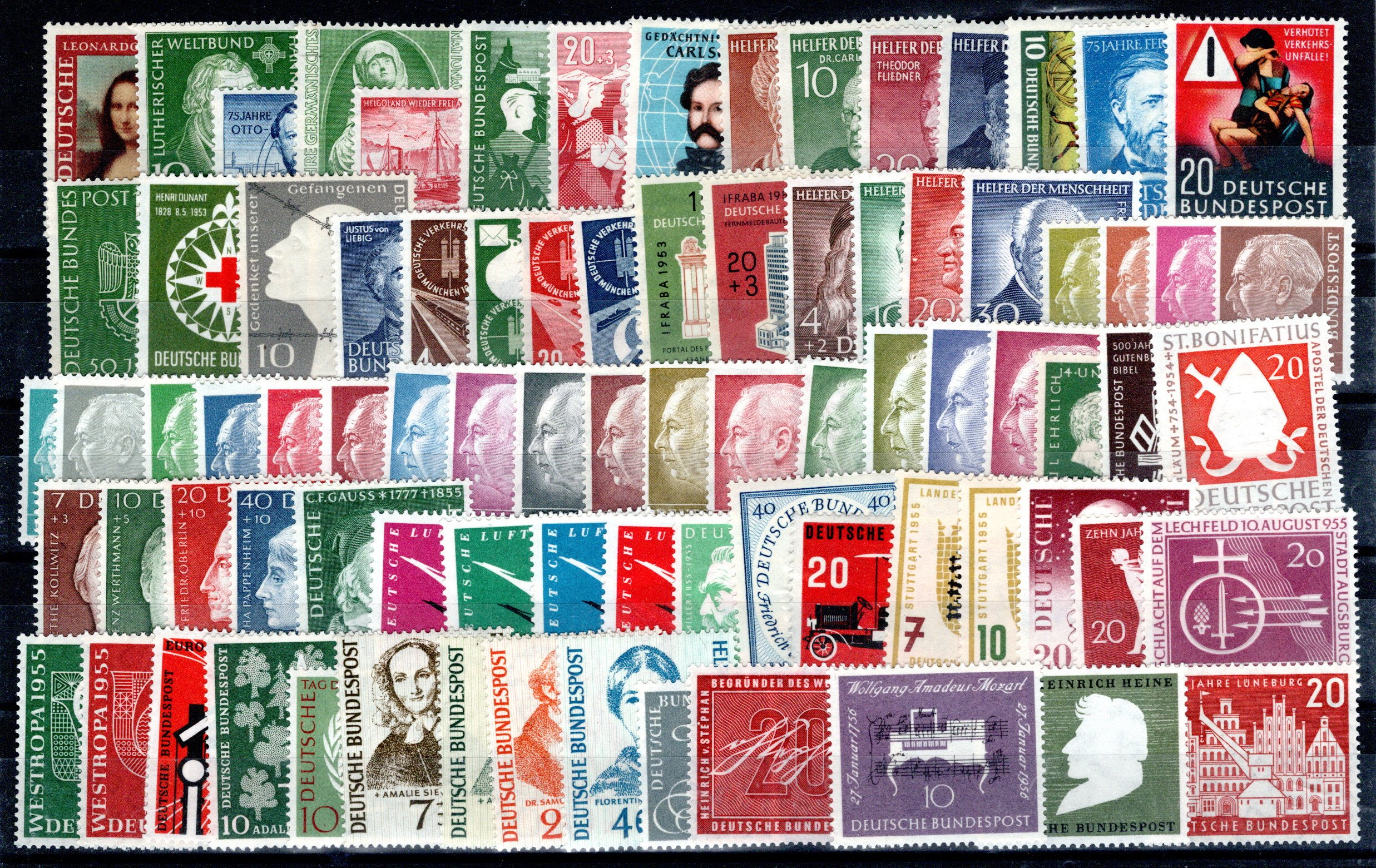 Lot 4268 - germany federal republic -  Georg Bühler Briefmarken Auktionen GmbH 27th mail bid auction
