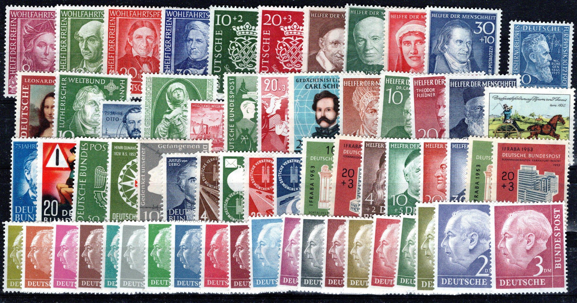 Lot 4429 - germany federal republic -  Georg Bühler Briefmarken Auktionen 26th mail bid auction