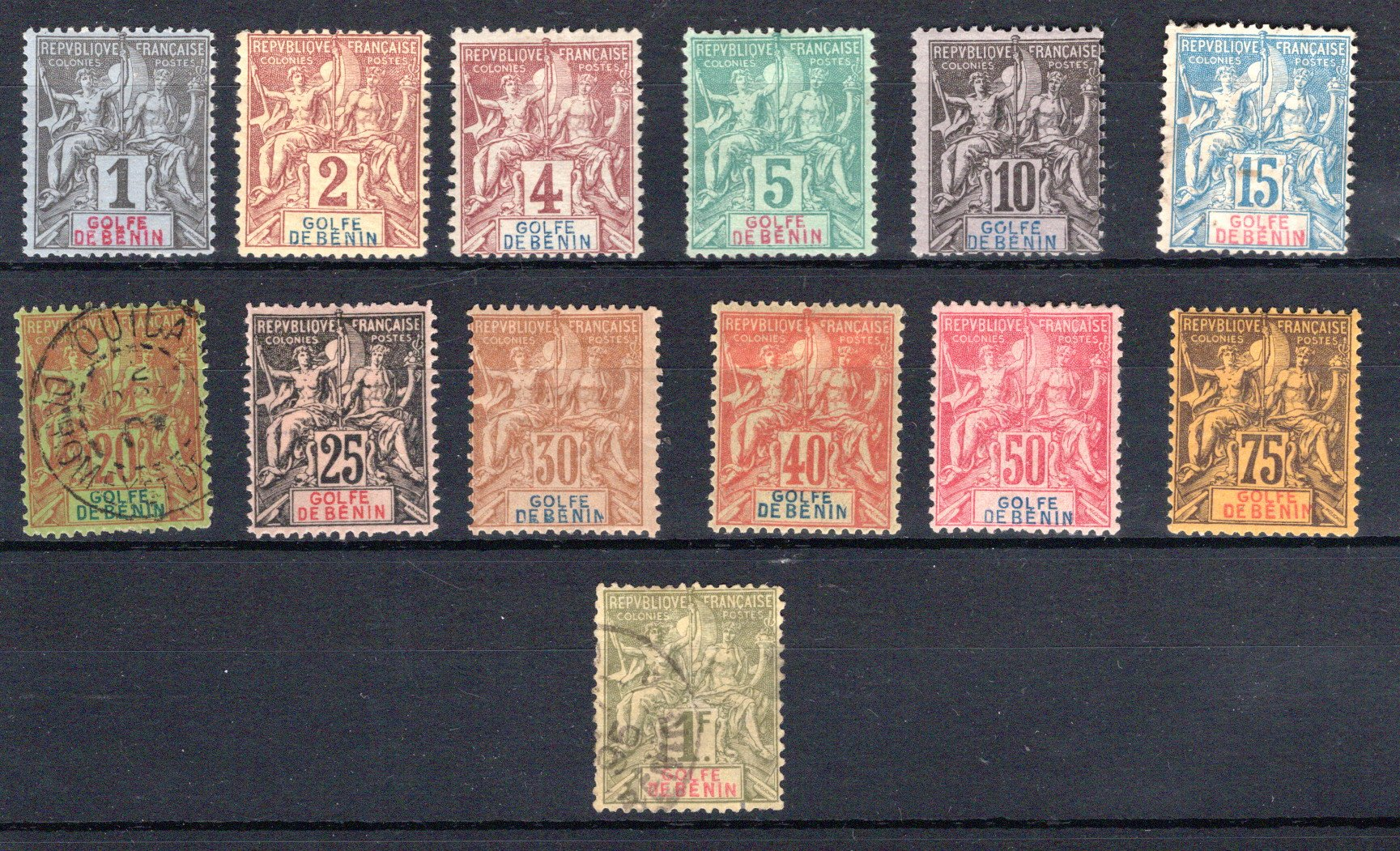 Lot 76 - africa Benin -  Georg Bühler Briefmarken Auktionen Auktion 332