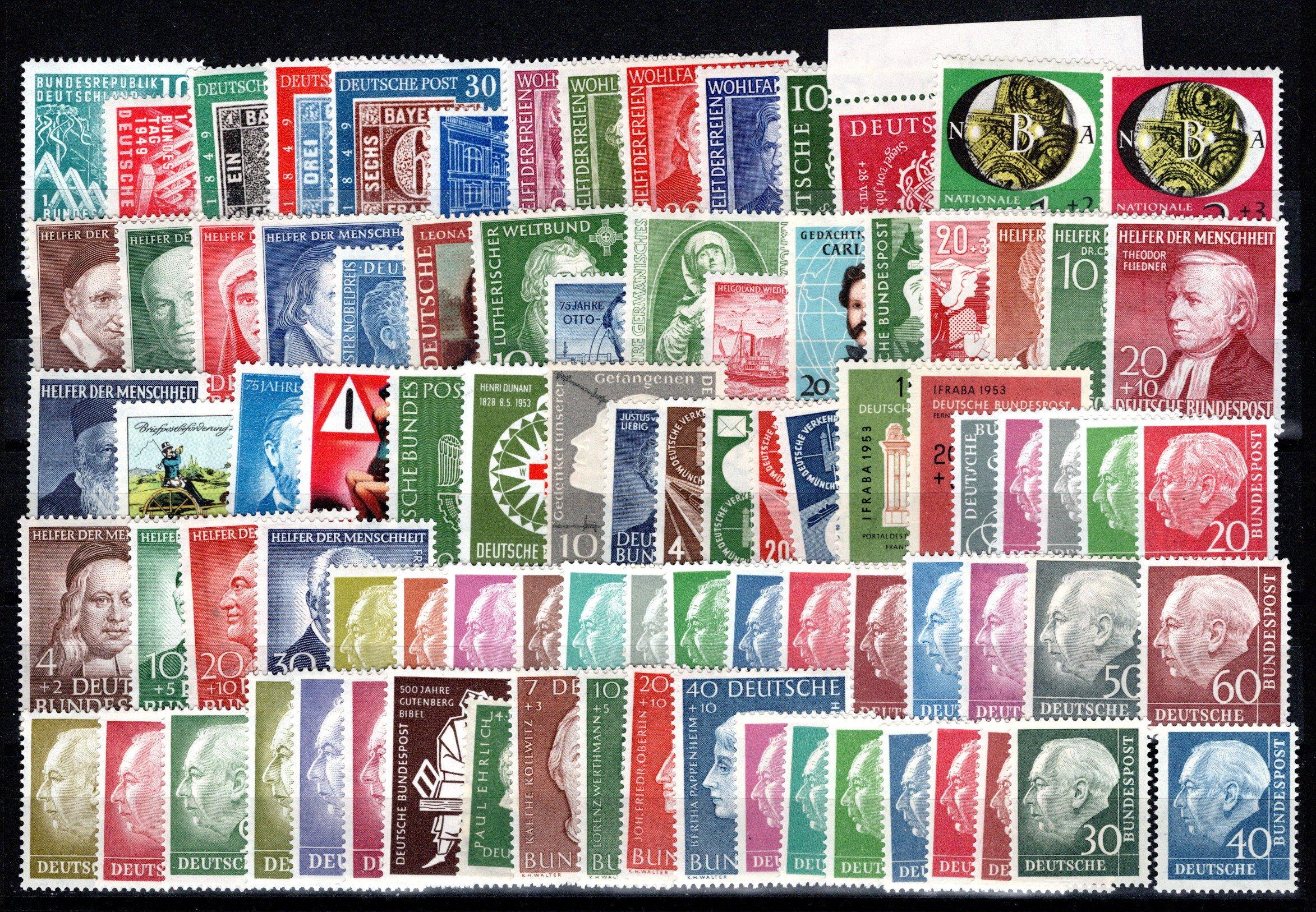 Lot 4231 - germany federal republic -  Georg Bühler Briefmarken Auktionen GmbH 27th mail bid auction
